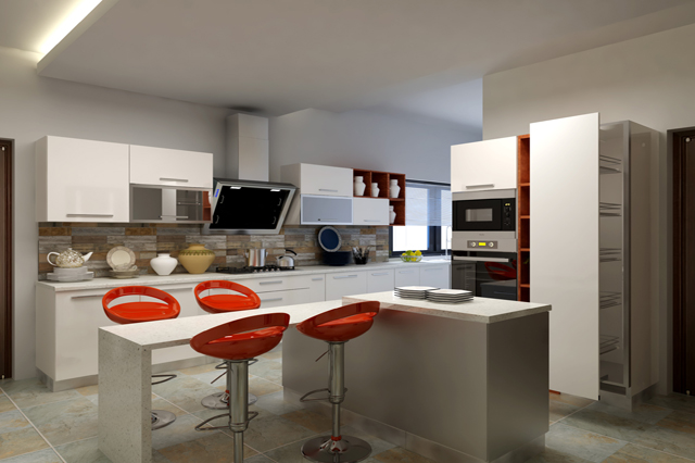 Modern Kitchen Design In Islamabad
