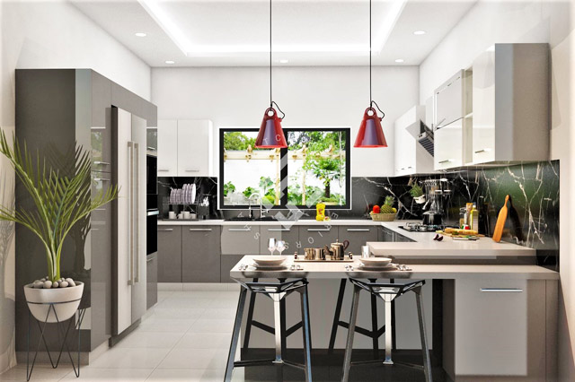 kitchen design in islamabad, pakistan | modern & small